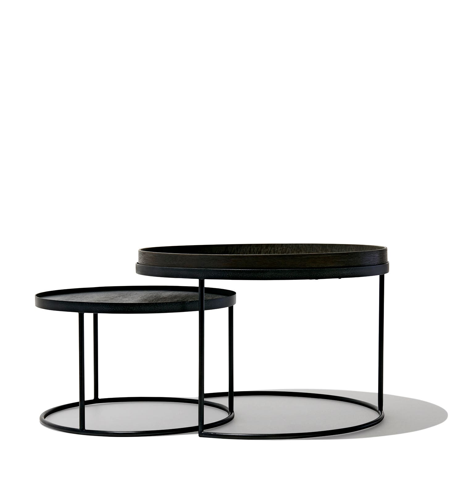 Nesting Snack Tables ~ Nesting tray tables low