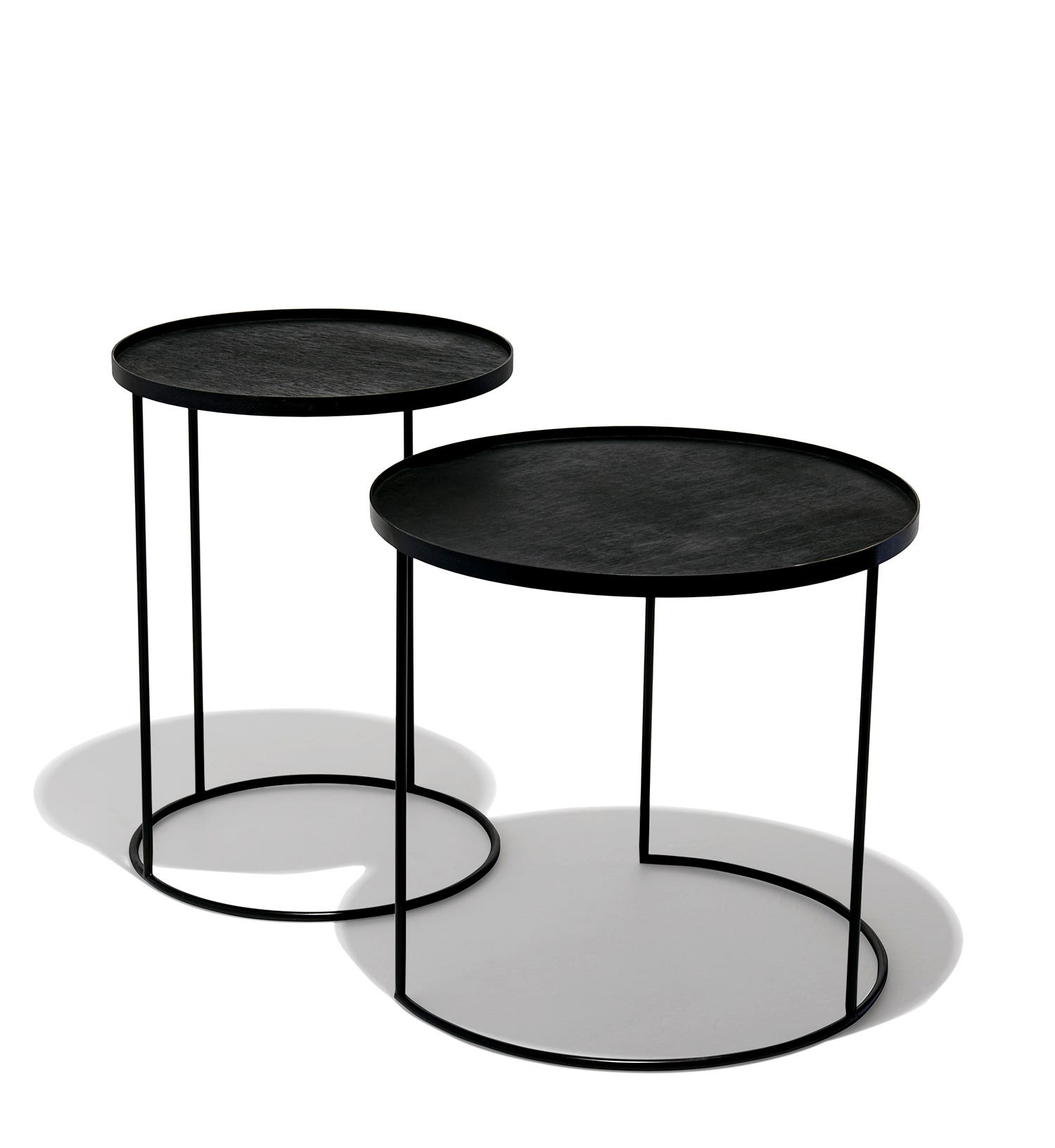 Nesting Snack Tables ~ Nesting tray tables