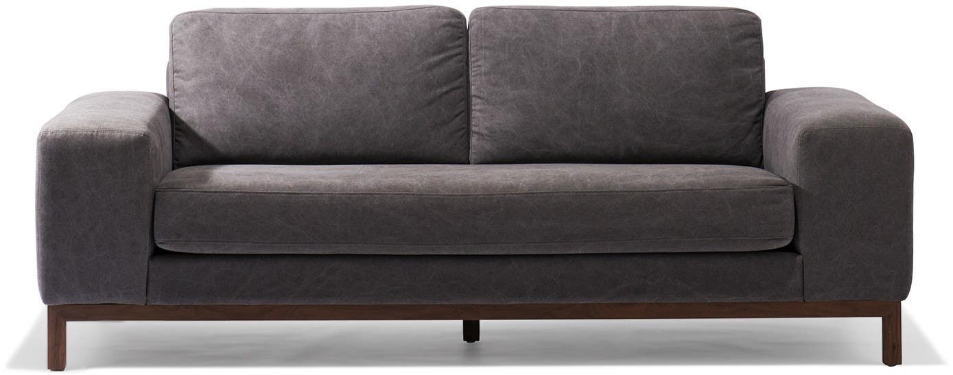 Modern Sofa Sets Industrial Leather Mid Century Sectional Sofas