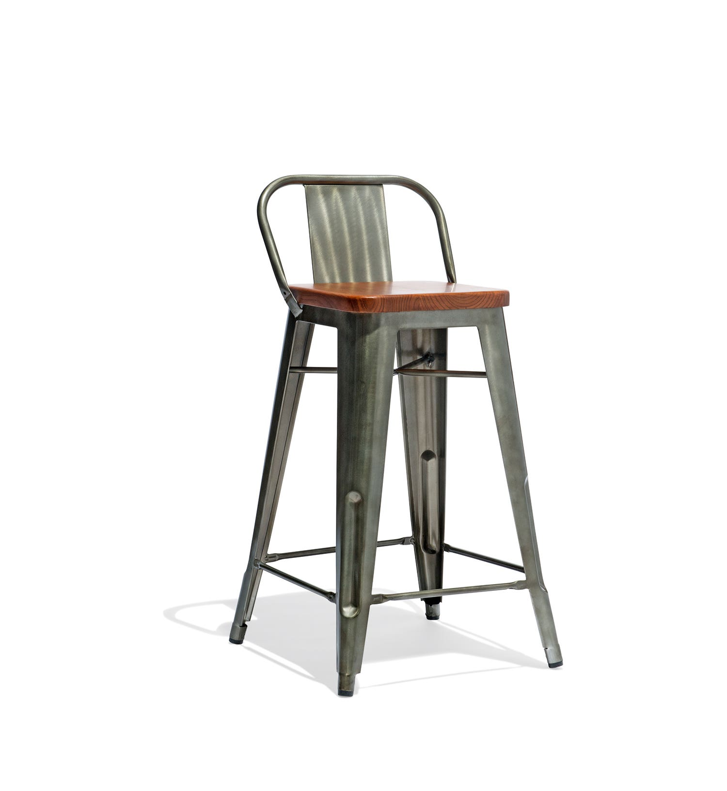 Super Low Back Counter Stool With A Wood Seat Andrewgaddart Wooden Chair Designs For Living Room Andrewgaddartcom