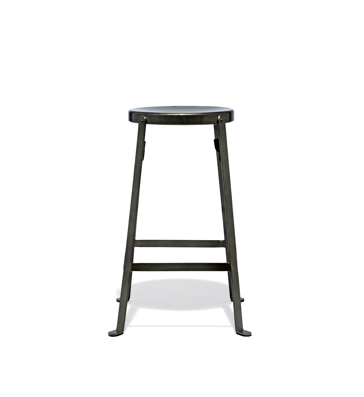 Counter stool height stackable counter height stools rustic ivory barstool gallery furniture - Standard counter height stool ...
