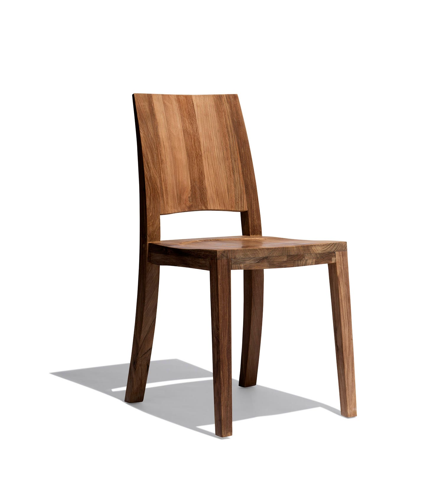 Wooden chairs with armrest - Industry West Archetype Chair