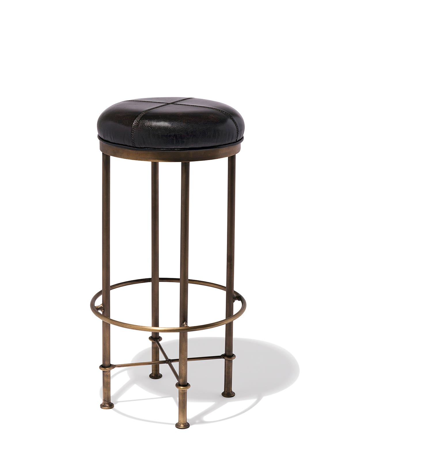 The Singapore Club Counter Stool a part of our new upholstered stool collection from Pure  sc 1 st  Industry West & Industrial Mid-Century and Modern Bar and Counter Stools for Home ... islam-shia.org