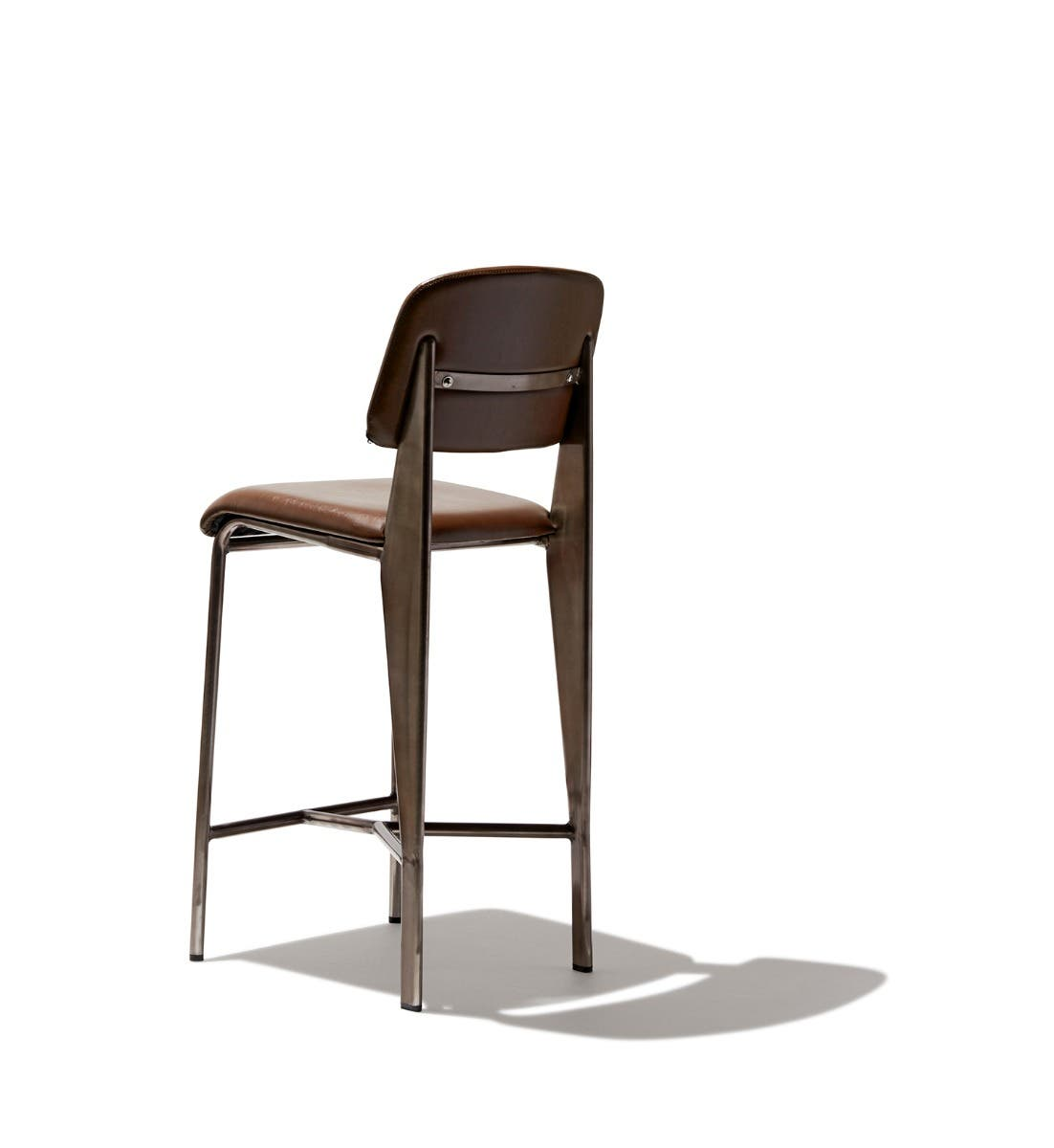 Prouve Counter Stool Leather