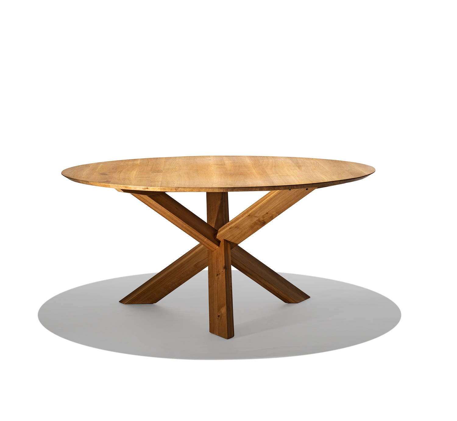 Mikado round dining table small for Small round dining table