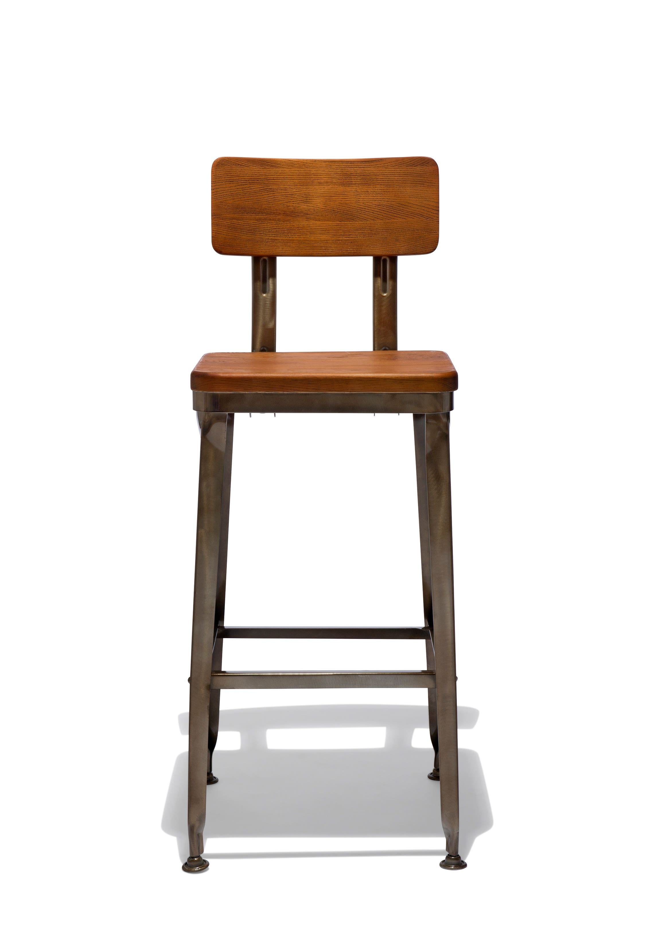Octane Counter Stool With A Wood Seat