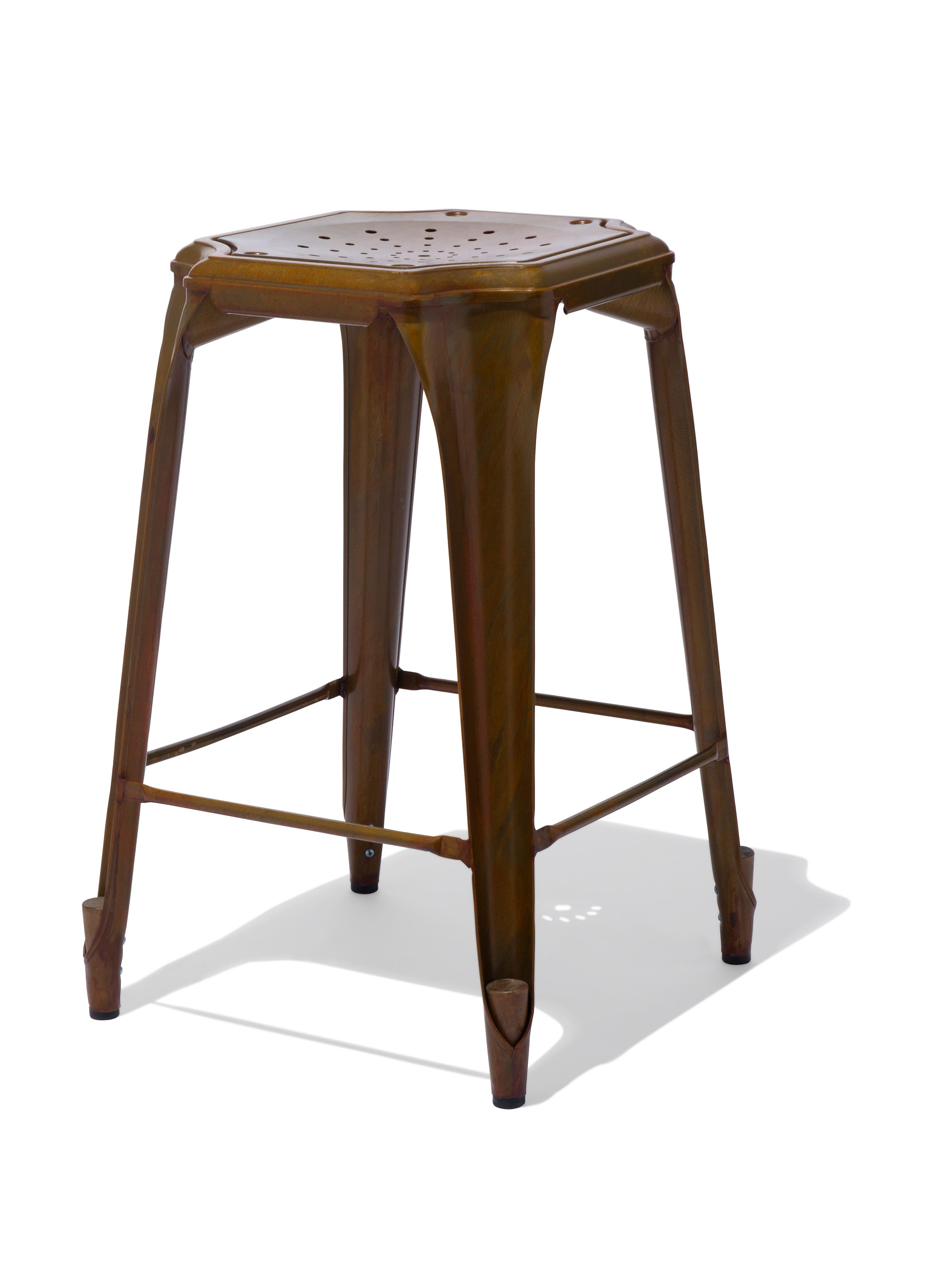 madewell counter and home stool century bar stools iwest modern habitusbar walnut industrial for shop mid