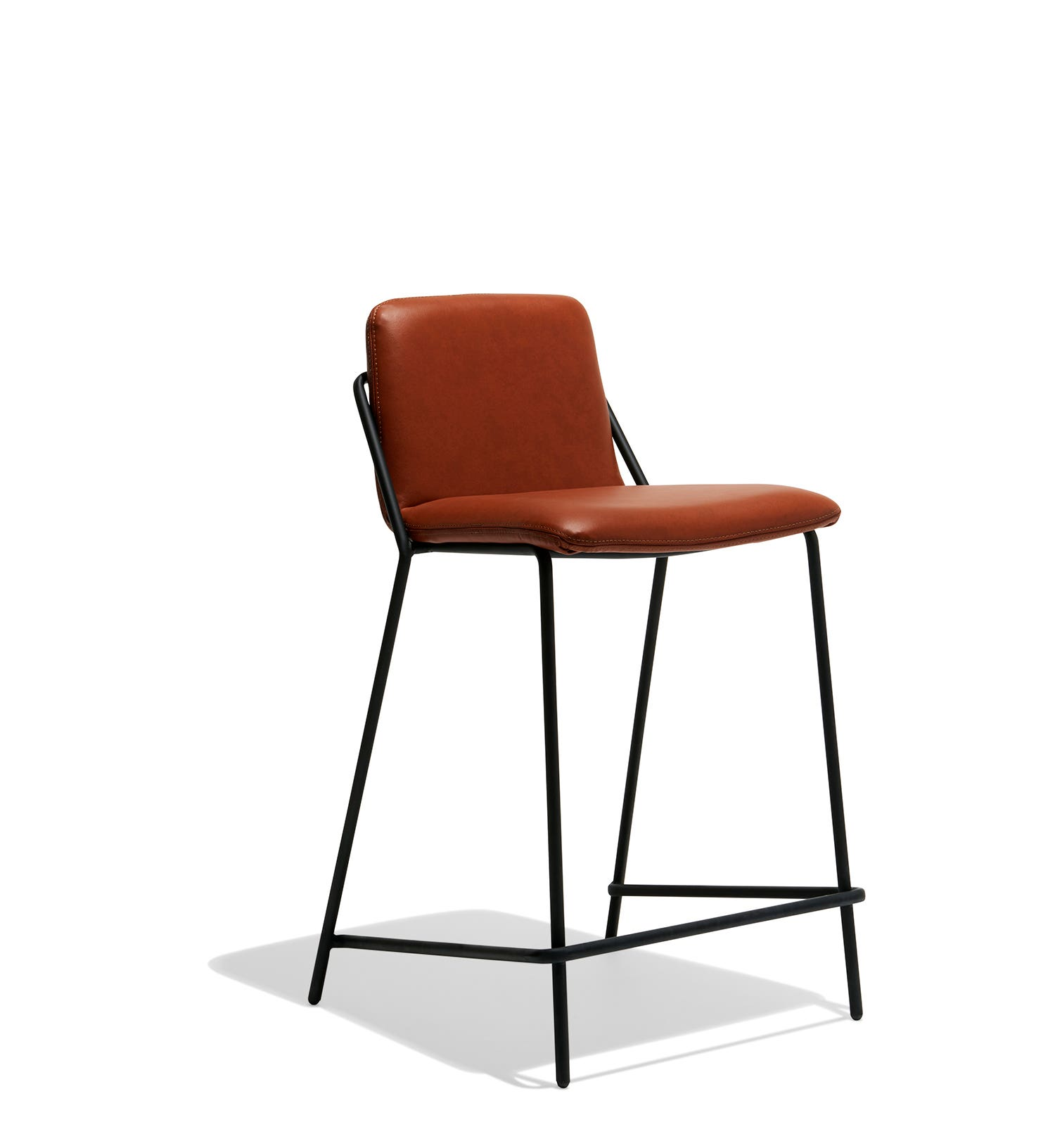 Sling Counter Stool Leather