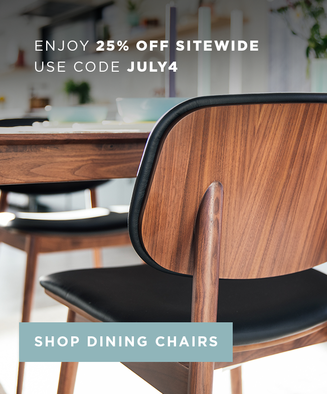 Enjoy 25% Off Sitewide Use Code JULY4 Shop Dining Chairs!