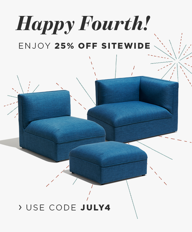 Happy Fourth! Enjoy 25% off sitewide use code JULY4.