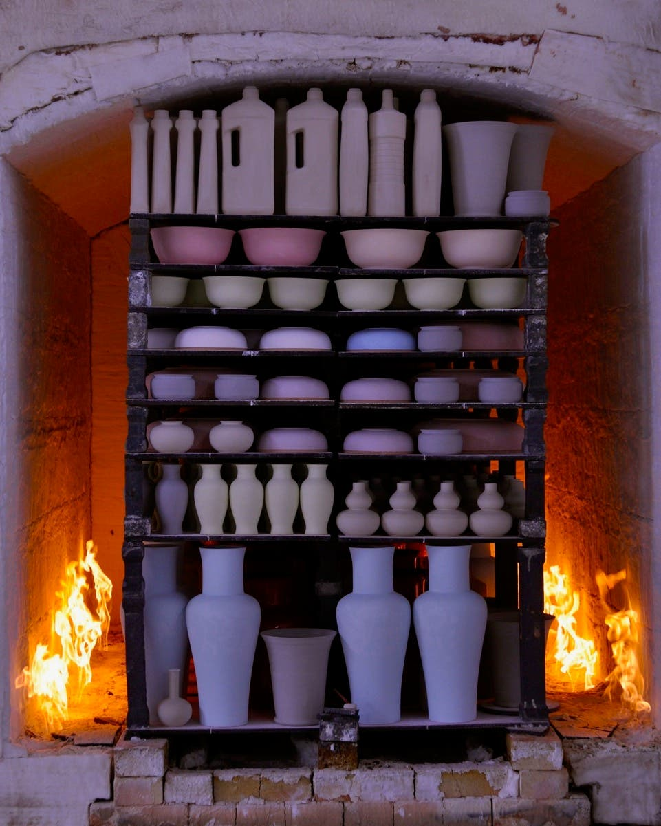 Behind the scenes of Middle Kingdom's porcelain process