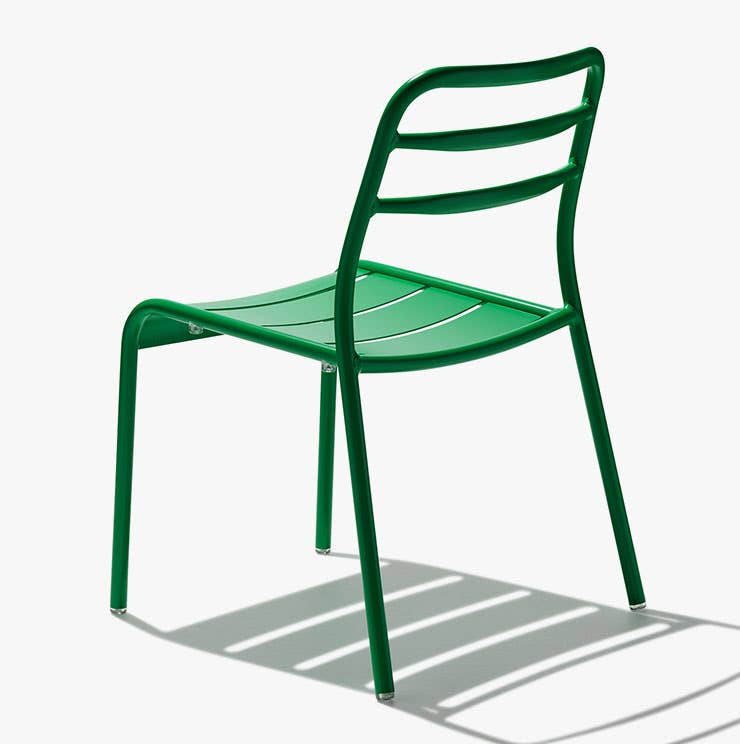 Industry West Suzy outoor dining chair in green