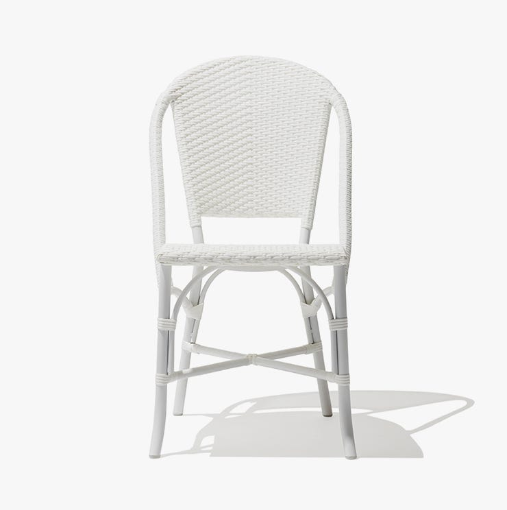 Industry West Monaco outoor aluminum side chair