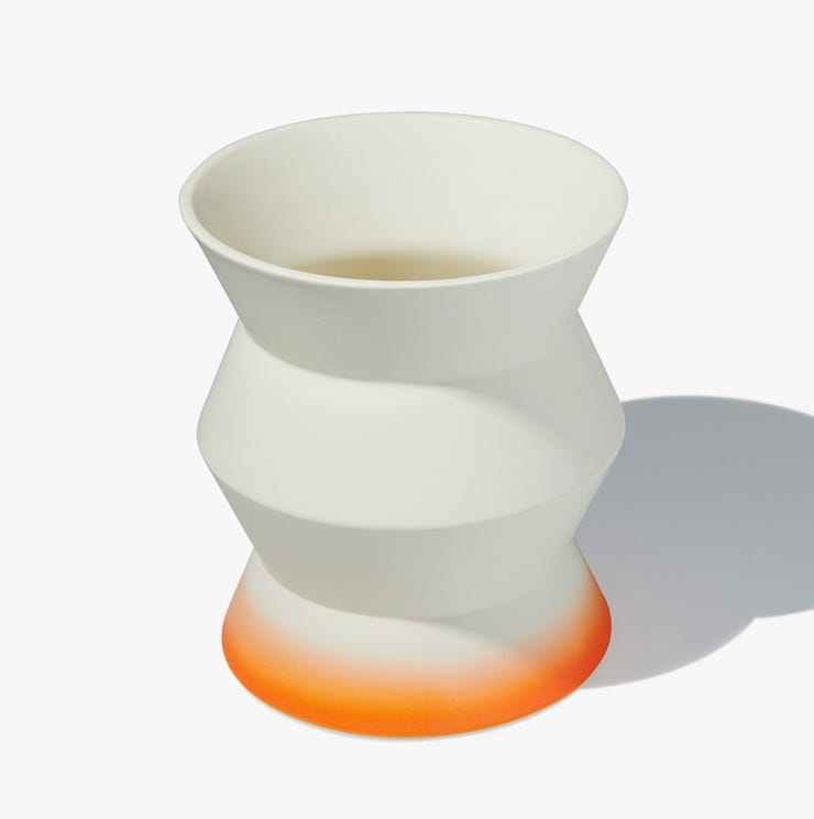 Zigzag pot high from Industry West